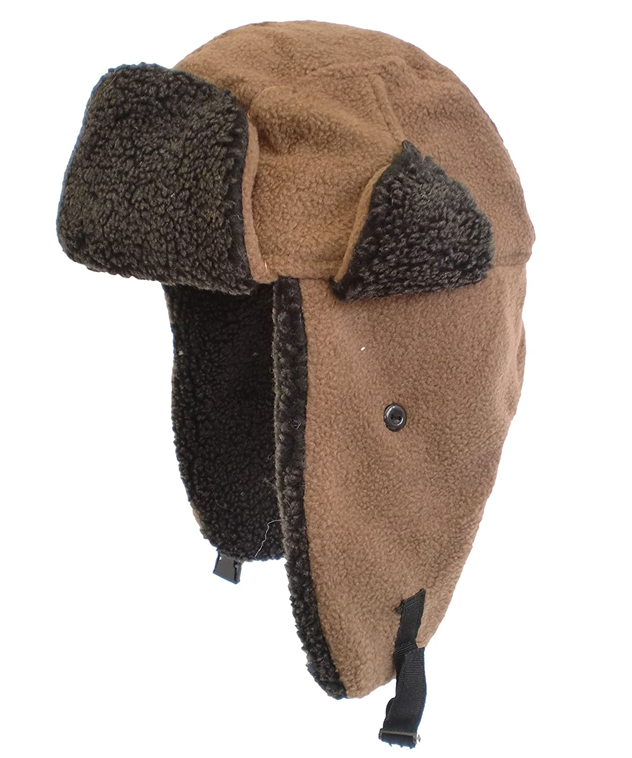 Adult Fleece Trapper Hat Warm Thermal Winter Ski Hat