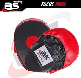 Générique Boxe Focus Pads Hook & Jab Mitaines Coup Gants de Frappe Boxe Thai Kit Sac Cible Entraînement Training Punch Sac en Rouge