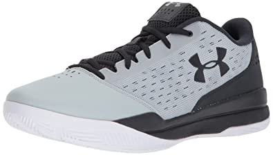 464068090818 Under Armour Men s Jet Low Basketball Shoe Overcast Gray (100) Anthracite 9