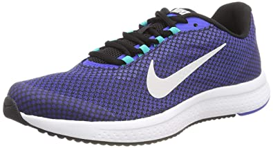 84d3f05fa4023 NIKE Men's Midnight Navy/Black-Vest Grey RUNALLDAY Running Shoes  (898464-016)