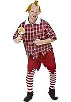 FunCostumes Adult Red Munchkin Costume