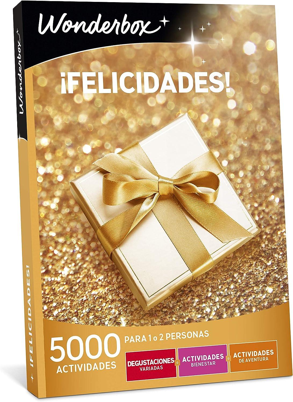 WONDERBOX Caja Regalo para papá -¡FELICIDADES!- 5.000 Actividades para una o Dos Personas