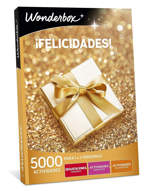 WONDERBOX Caja Regalo -¡FELICIDADES!- 5.000 Actividades para una o Dos Personas