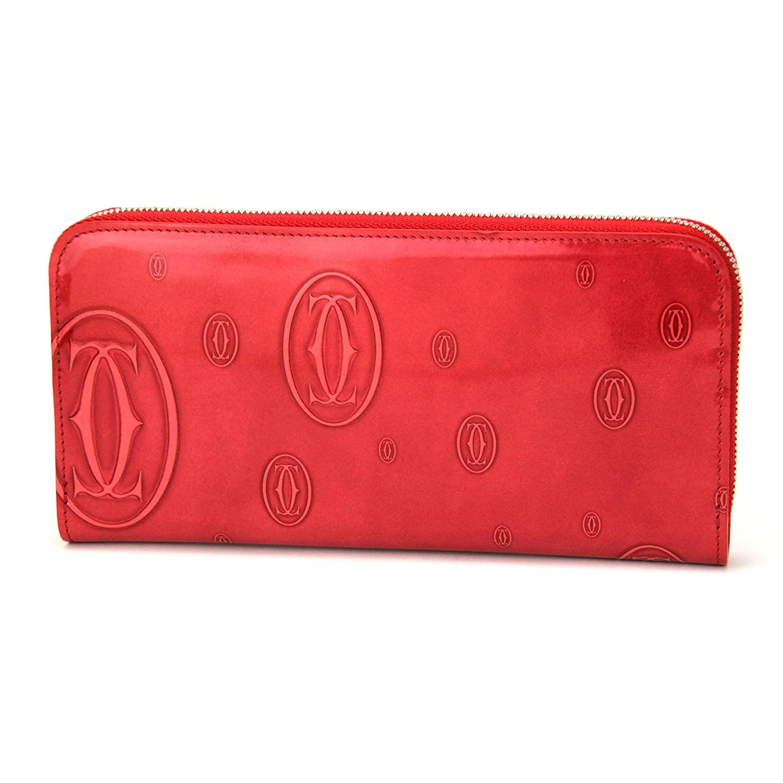 Cartier(カルティエ) L3001253 ラウンドファスナー長財布【ハッピーバースデー ライン】【並行輸入品】 B008426KO6