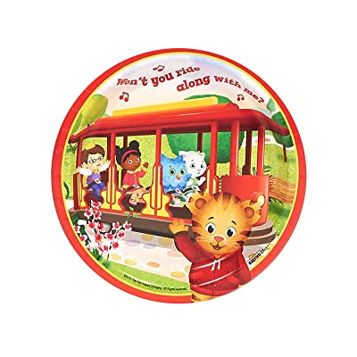 BirthdayExpress Daniel Tiger Party Supplies 48 Pack Dessert Plates: Toys & Games
