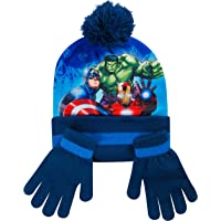 Disney- Cappello Bimbo Inverno Sciarpa Guanti Spiderman Marvel Avengers Paw Patrol Frozen Cappelli Bimba Invernali