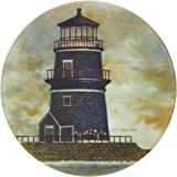 "CoasterStone AS2080 Absorbent Coasters, 4-1/4-Inch, ""Lighthouses"", Set of 4"