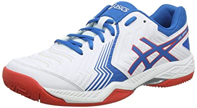 ASICS Men s Gel-Game 6 Clay Tennis Shoes Blue  Amazon.co.uk  Shoes ... 8c1e7288c37