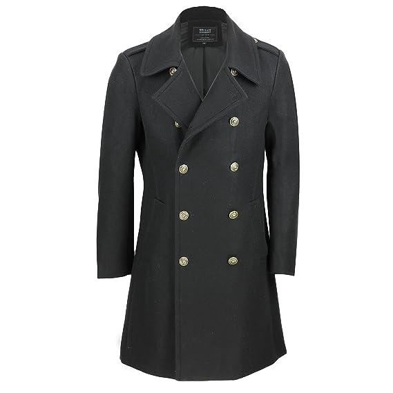 Mens Overcoat / Vintage Long Coat / Wool Cashmere / Winter Coat / Black Coat xRLusIEUCS