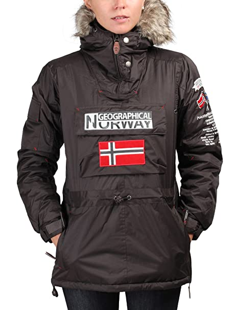 GEOGRAPHICAL NORWAY chaqueta mujer Building marrón - mujer ...