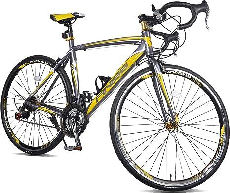 Merax Bicicleta de Carretera Finiss de Aluminio de 21 velocidades ...