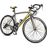 Merax Finiss Aluminum 21 Speed 700C Road Bike Racing Bicycle