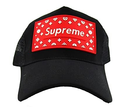 x-lent Supreme Base Ball caps for Man Stylish Black  Amazon.in  Clothing    Accessories 86fba45ff58c