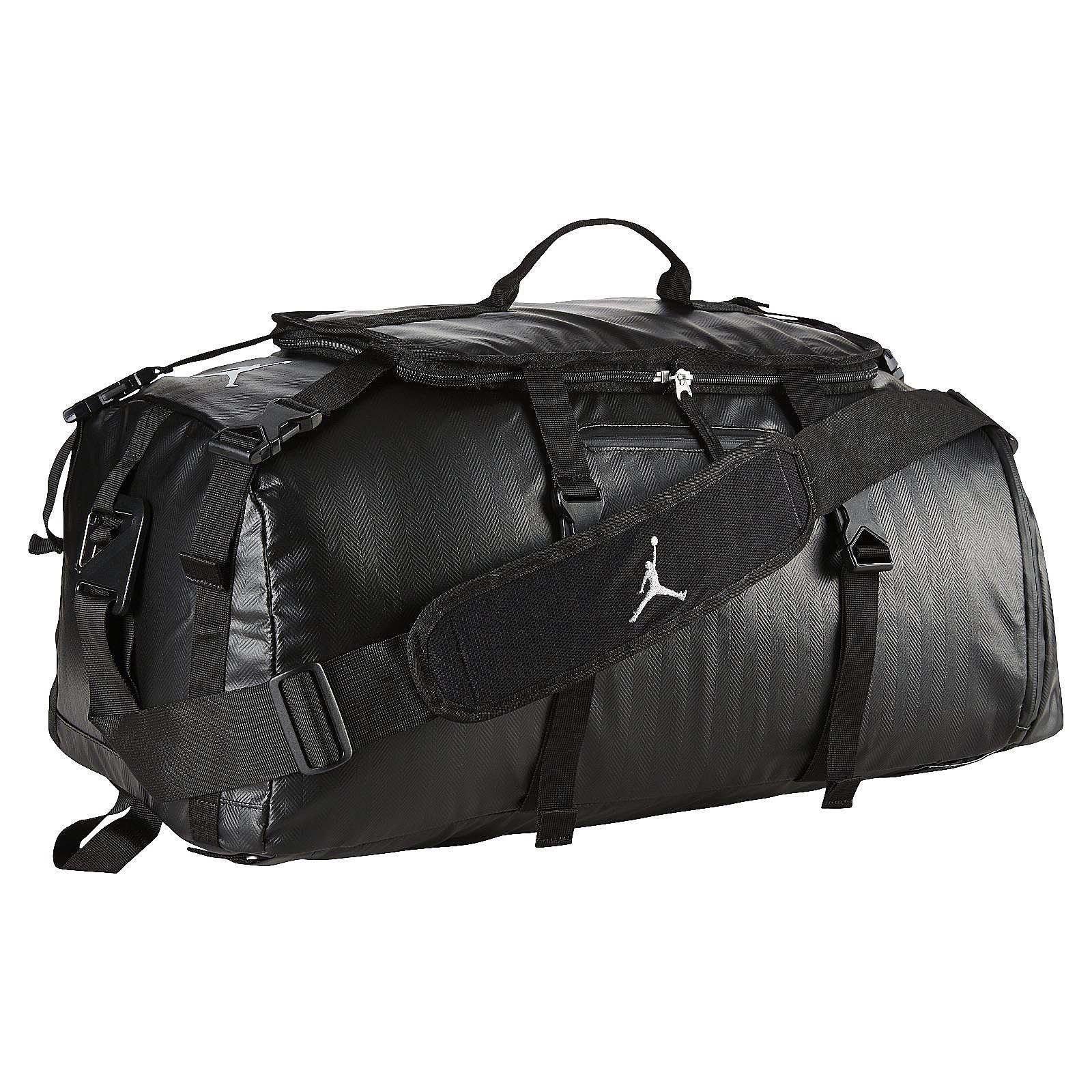 Nike Air Jordan Jumpman Black Duffle Gym Bag BA8052-010