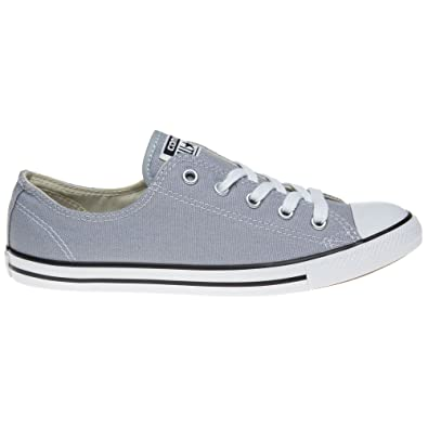f397aae632b7 Converse Dainty OX 544950C Stone Grey Trainers for Women  Amazon.co.uk   Shoes   Bags