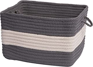 product image for Colonial Mills Rope Walk Utility Basket, 18 by 12-Inch, Gray