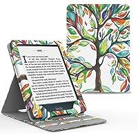 MoKo Kindle Paperwhite E-Reader Funda, Prima Voltear verticalmente Cubierta Smart Cover Case para KAmazon Kindle Paperwhite (10th Generación, 2018 Release) - Árbol de Suerte