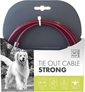 M-PETS Tie Out Cable Strong - 1700Lb-3M