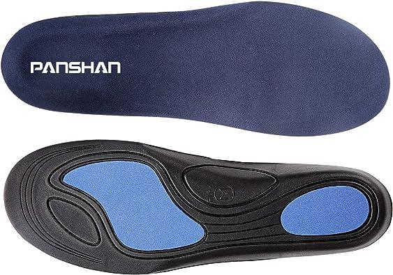 Gel Insert Arch Support Shoe Insole Cure Flat Feet Pad Sport Plantar Fasciitis P