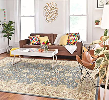 Turkish Carpet Anti Slip Carpet Continental Modern Carpet Living Room  Carpet Bedroom Study Carpet Carpet