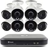 Swann Home Security Camera System, 4K Ultra HD, 8 Channel 8 Bullet Cameras, Indoor/Outdoor Wired Surveillance CCTV DVR…