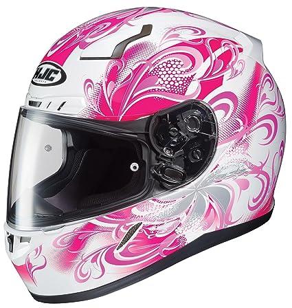 41aad884 Amazon.com: HJC CL-17 Cosmos - Womens' Full-Face Street Motorcycle Helmet -  Pink - X-Small: Automotive