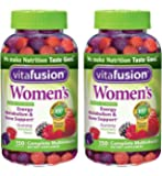 Vitafusion Womens AcGwMJ Gummy Vitamins, 150 Count (Pack of 2)