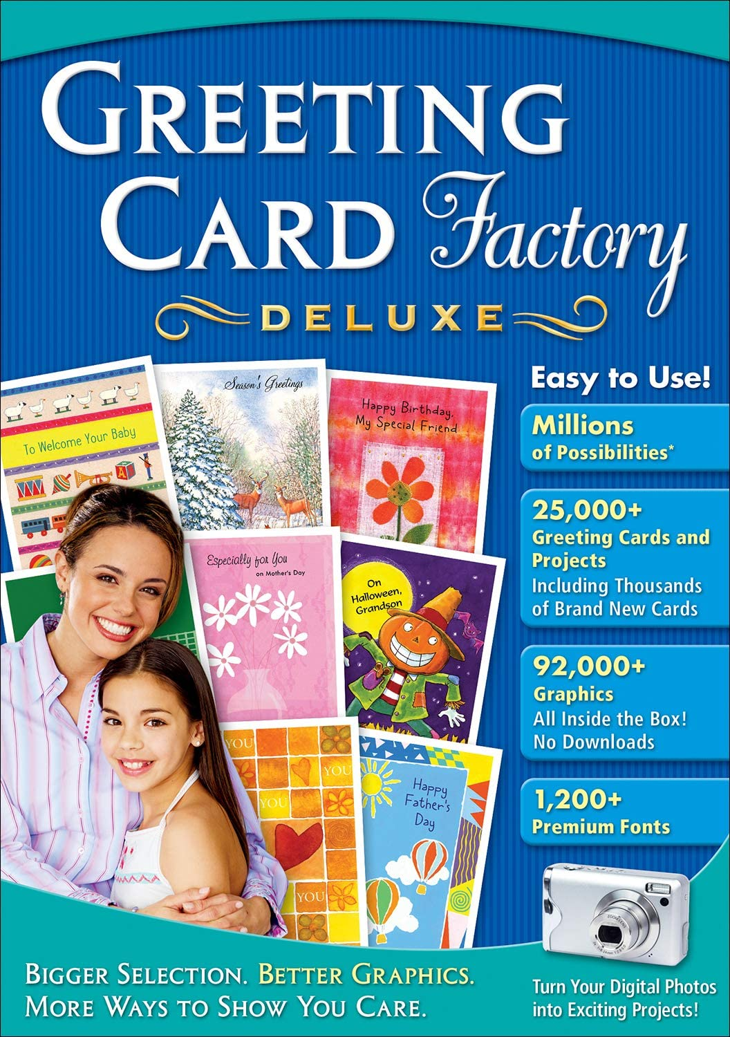 Amazon Com Greeting Card Factory Deluxe 11 Download Software