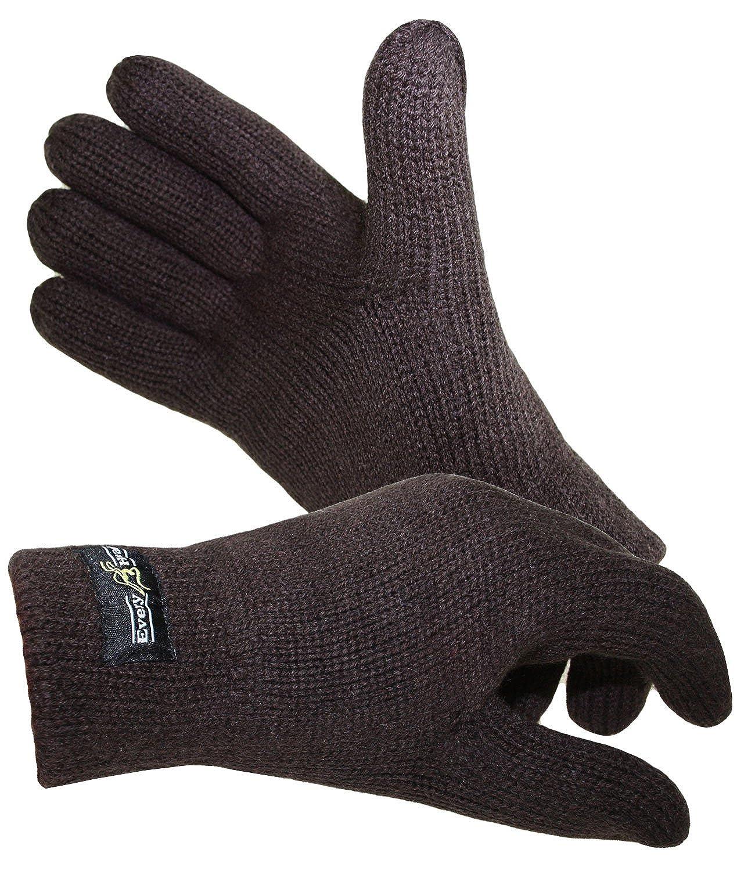 Earbags Glooove Woven Label Fleece Handschuhe Winter Weich Erwachsene Glove