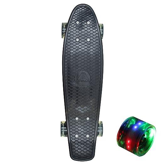 94 opinioni per Apollo Fancy Board 57 cm con o senza ruote luminose led, colore: nero,