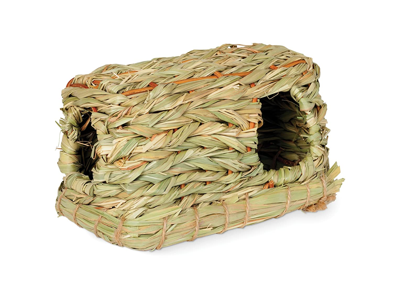 Prevue Hendryx 1096 Nature's Hideaway Grass Hut Toy, Small