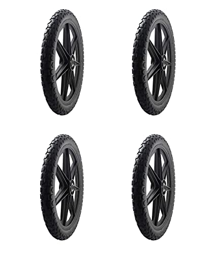 """Marathon 92010 Flat Free 20/"""" Replacement Tire Assembly for Rubbermaid Big Wheel"""