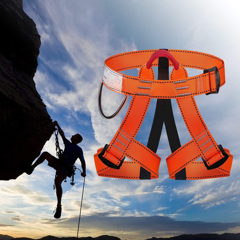 Arnés de Escalada Alpinismo,Cuerda Equipo Escalada Ajustable ...