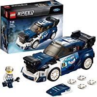 LEGO Speed Champions Ford Fiesta M-Sport Wrc Rally Toy Car, Multi-Colour