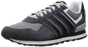 best sneakers 1b06c 4a76a adidas 10K Zapatillas, Hombre, Gris, 40 2 3