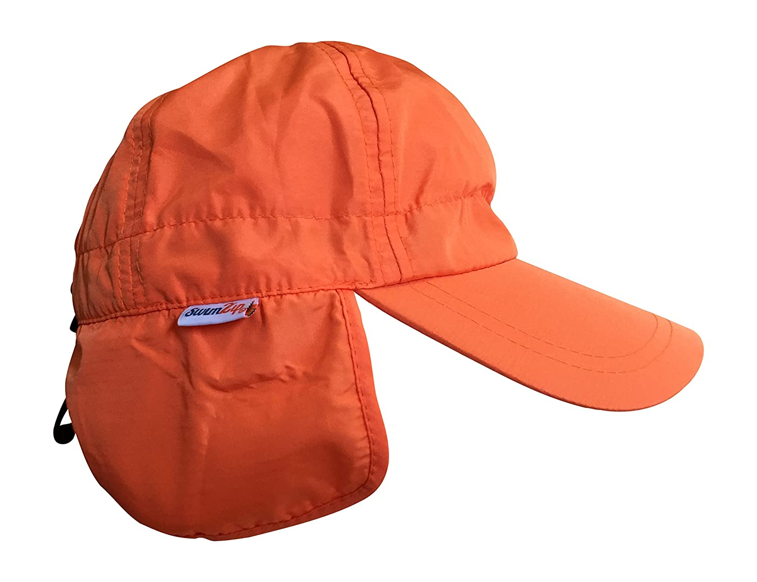 6eb8fc79 Amazon.com: SwimZip Shady Days Flap Sun Hat UPF 50+: Clothing