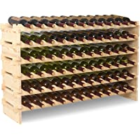 UEnjoy Wine Rack Bottle Holder Display Shelves