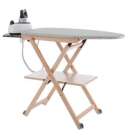 Arredamenti Italia Stirocomodo (621)- Tabla de planchar plegable, hecha en madera de