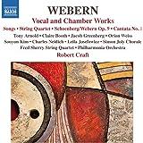 Webern: Vocal & Chamber Works