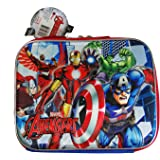 AVENGERS 3-D LUNCH KIT WITH LONG STRAP
