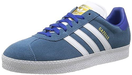 adidas Zapatillas Gazelle Ii Azul/Blanco EU 40 2/3: Amazon.es: Zapatos y complementos