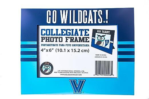 Amazon.com : Collegiate Pulse Villanova Wildcats NCAA PVC Photo Frame : Sports & Outdoors