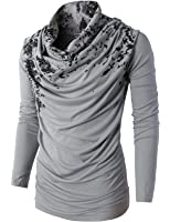 Amazon.com: Byther Men's Social Best Large Cowl-Neck Unique Niche ...
