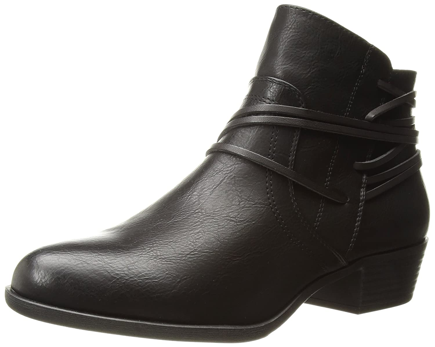 Madden Girl Women's Become Ankle Boot B074WPZ1JW 7.5 B(M) US|Black Paris