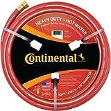 Continental ContiTech Red Hot Water Heavy Duty Garden Hose, 5/8' ID x 50 Feet Length