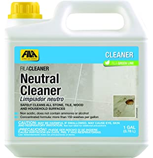 FILA Neutral Cleaner 1 Gallon, All Purpose Neutral Cleaner Concentrate Ideal for Floors, All