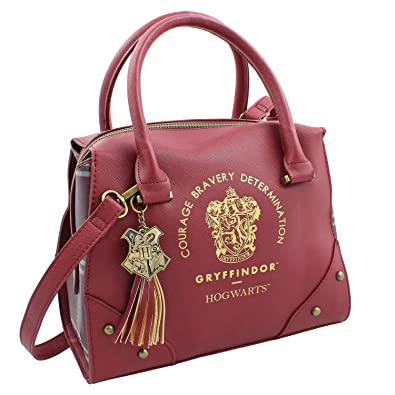 13ac090e872 Harry Potter Purse Designer Handbag Hogwarts Houses Womens Top Handle  Shoulder Satchel Bag Gryffindor