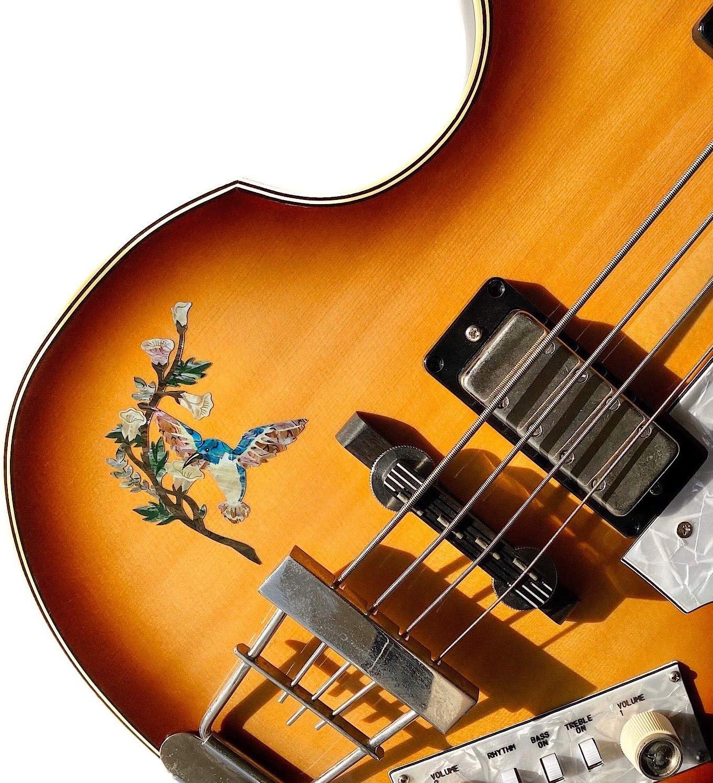 Hummingbird DX Sticker Inlay Guitare /& Basse
