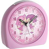 TFA 60.1004 Reloj Despertador electrónico Infantil, Rosa