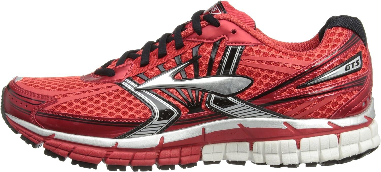 BrooksAdrenaline GST 14 Men - correr hombre, High Risk Red/Black/Silver, 6.5 UK: Amazon.es: Zapatos y complementos